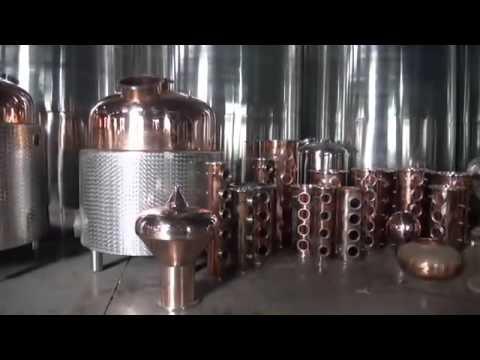 DYE Alcohol Distilling Equipment For Vodka, Whiskey, Rum, Etc