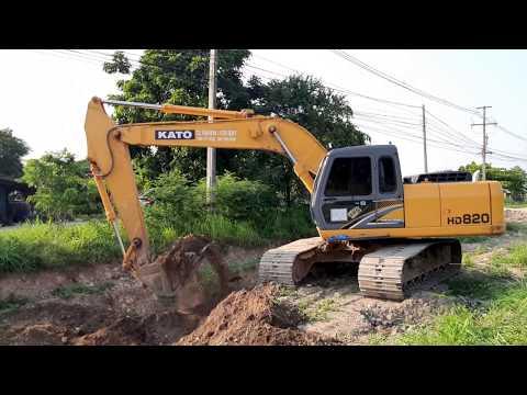 NEW KATO HD820-R5 เร็วจัด สี่สูบ 4M50  152hp 21 ตัน  excavator  EP.5539