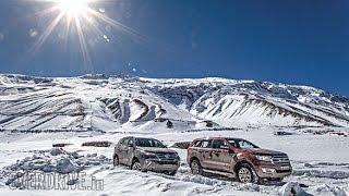 Teaser: 2017 Toyota Fortuner vs Ford Endeavour in Kaza