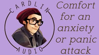 ASMR Voice: Comfort for an anxiety or panic attack [M4A] [Boyfriend/Husband] [Romantic]