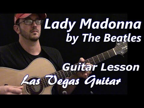 Lady Madonna by the Beatles Guitar Lesson