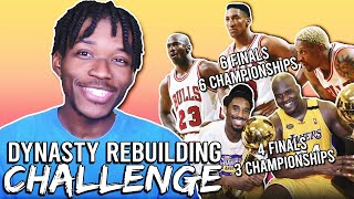 THE DYNASTY REBUILDING CHALLENGE IN NBA 2K20