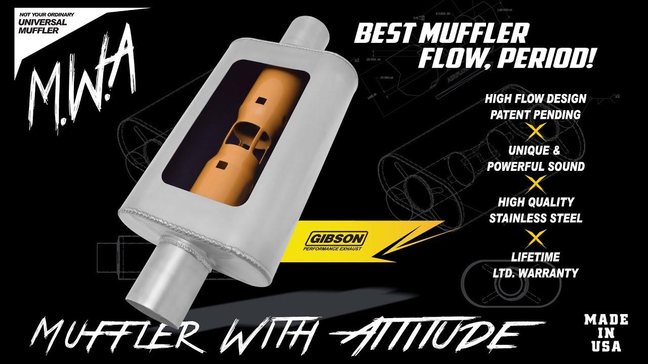 Gibson Performance Superflow MWA Mufflers