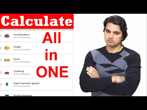 [Hindi] Best Calculator For Android :Calculate Everything At One Place | Android Apps & Tricks Ep 25