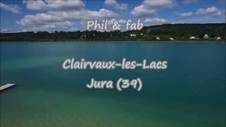 clairvaux les lacs en  Drone