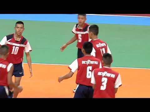 HL วอลเลย์บอลกรมพลศึกษา รอบชิงชนะเลิศ ทีมชาย อัสสัมชัญ - สระบุรีวิทยาคม 2559-03-10