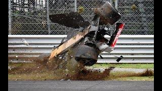 F1 2018 All Crashes