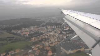 Landing at Runway 31R of Marseille Provence Airport with Air France