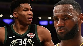 Giannis Antetokounmpo Turns Down 'Space Jam 2,' & Shades LeBron James 'I Don't Like Being Hollywood'