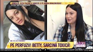 Betty, fiica lui Florin Salam, despre problemele din primele luni de sarcină!