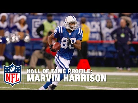 Marvin Harrison (Colts, WR) Career Feature | 2016 Pro Football Hall of Fame | NFL