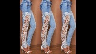 Стильная одежда из старых джинс своими руками. Часть 2