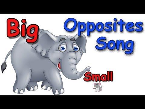 Opposites - Opposites Songs for Children - Kids Songs by The Learning Station