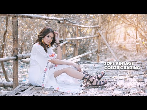 Soft and Vintage Color Grading Photoshop Tutorial thumbnail