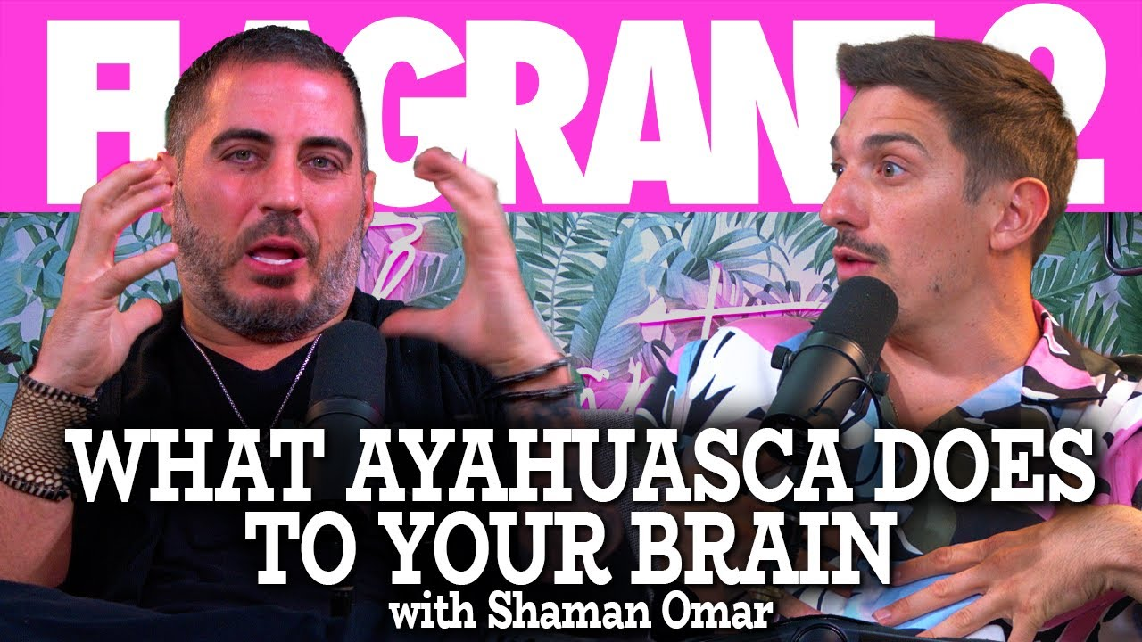 What Ayahuasca Does To Your Brain With Shaman Omar | Flagrant U with Andrew Schulz