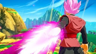 Dragon Ball FighterZ - ALL GOKU BLACK Pre Battle DIALOGUES! (English/Japanese)