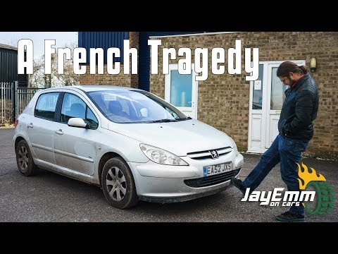 This Peugeot 307 Is What Happens When Someone Just Doesn't Care About Their Car