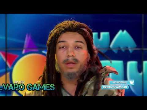Loquillo Rastacuando cantando música reggae - humor colombiano
