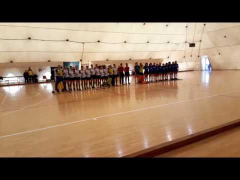 HIL femminile: L'inno prima della finale CUS Pisa-CUS Torino