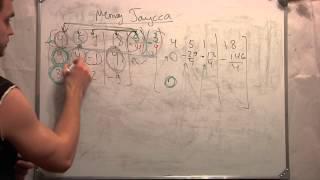 Метод Гаусса.Система линейных уравнений. Студент. Ч 5.