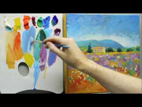 How to paint like Monet: Part 3 – Step-by-step Impressionist landscape painting