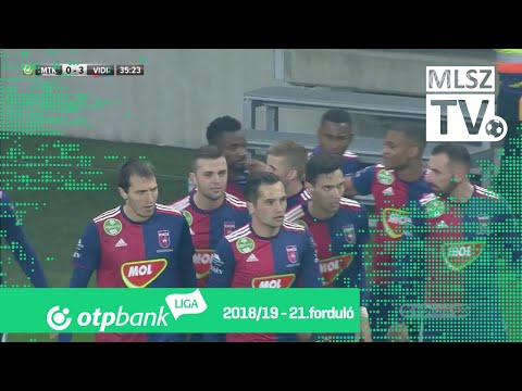 MTK Budapest – Mol Vidi FC | 1-3 | (0-3) | OTP Bank Liga | 21. forduló | MLSZTV