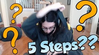 IMAQTPIE TRYING TO PUT ON A TIE! - League of Legends Funny Stream Moments #93
