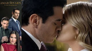 Por Amar Sin Ley 2 - Capítulo 90: Ricardo y Sofia se besan - Televisa