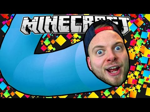 SLITHER.IO IN MINECRAFT! - Worm Mini Game!