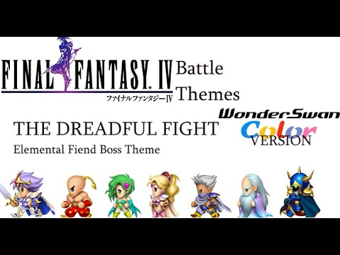 Final Fantasy IV Battle Themes: 4 Different Versions - NintendoComplete