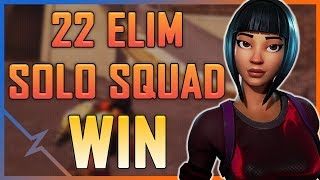 Fortnite - 22 Elimination Solo Squad - May 2018   DrLupo