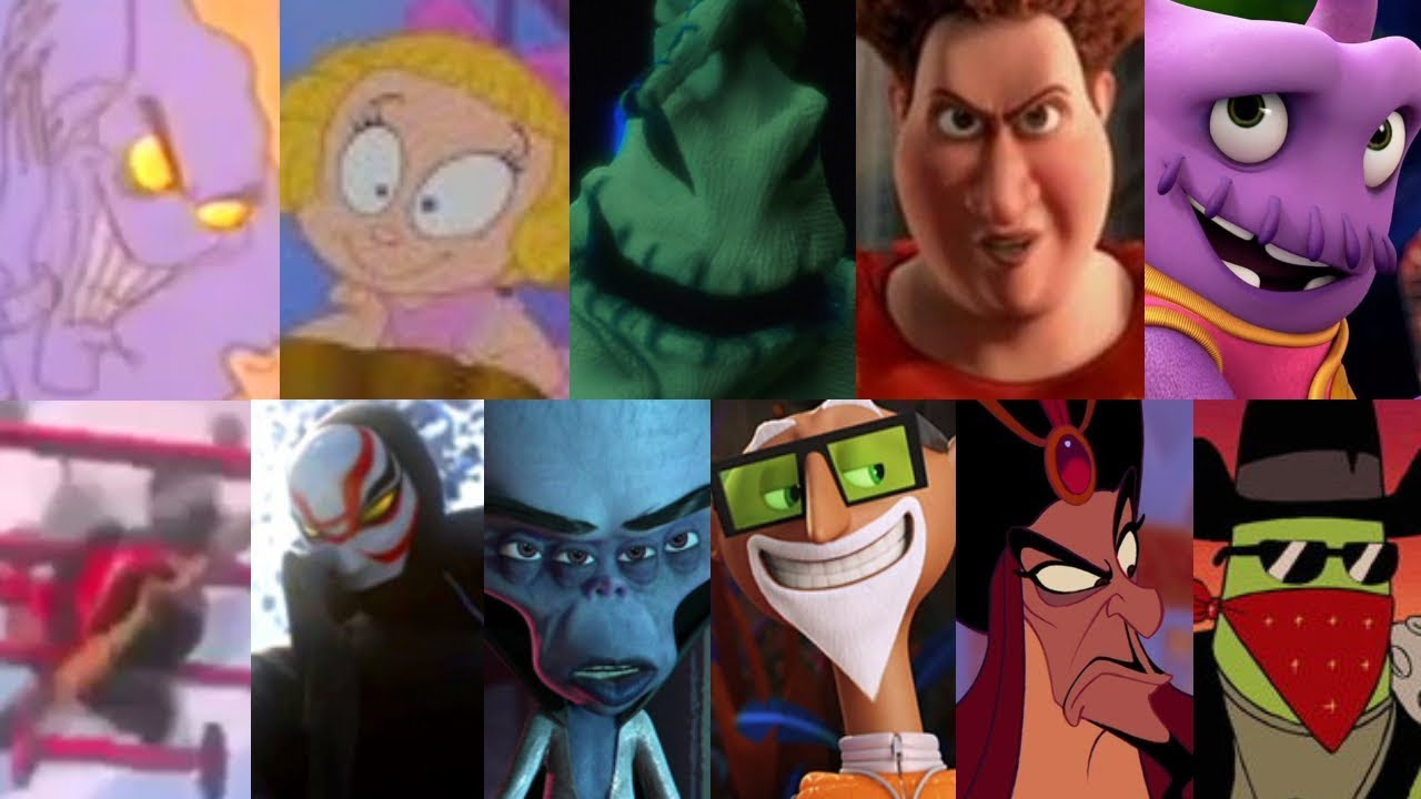 Defeats of My Favorite Animated Movie Villains Part 2