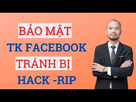 làm thế nào để lấy lại facebook khi bị hack - Làm thế nào để bảo mật tài khoản Facebook tránh bị hack - Rip