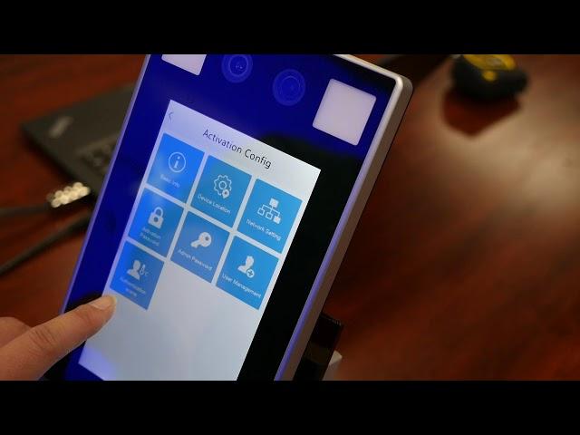 OET 213H BTS1 Face Recognition + Temperature Measurement System