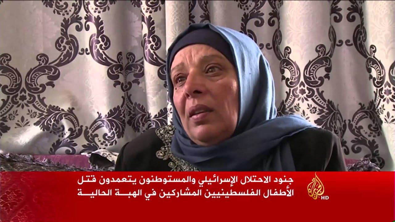 الجزيرة: تعمد جنود الاحتلال الإسرائيلي قتل الأطفال الفلسطينيين