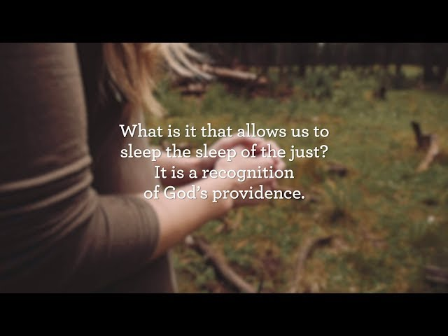 A Recognition of God's Providence