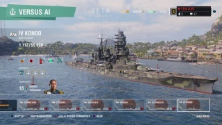 World Of Warships Legends PS4 gameplay