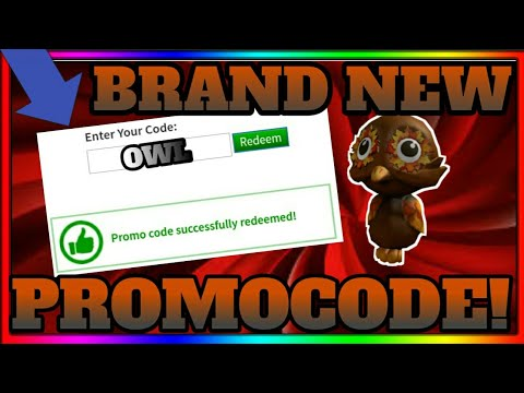 new fall shoulder owl pal promocode in roblox  roblox