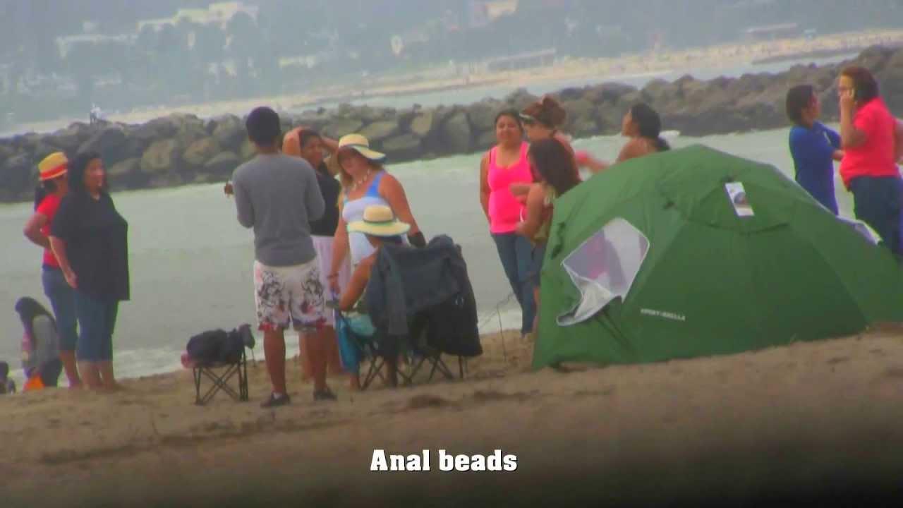 Opinion already Anal beads beach