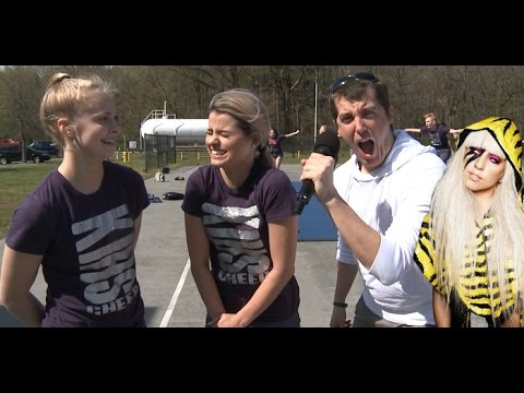 Kent Island High School Cheerleaders Interview (Warning: Funny)
