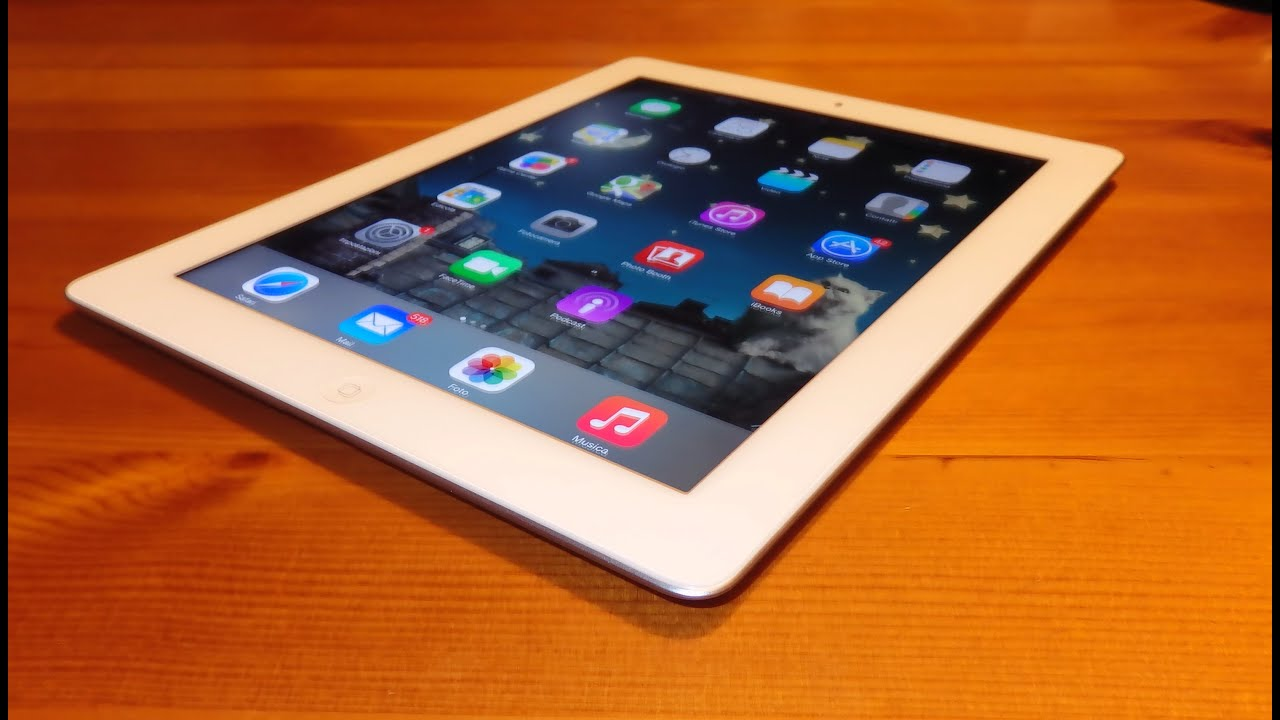 Apple Ipad 3 retina 16Gb 4g LTE - Unboxing Tablet
