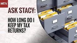 How Long Do I Keep My Tax Returns?