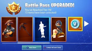 SEASON 8 Battle Pass Débloqué à Fortnite.