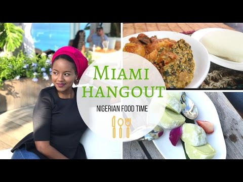 Nigerian food in Miami | One Hotel South Beach **review**