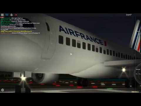 plane spotting part 2 (Roblox Place With Airliners)
