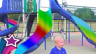 Max Plays at Incredible Playground with Nursery Rhymes Songs Old Macdonald Had a farm