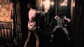 Resident Evil HD Remastered : How to kill zombie with knife