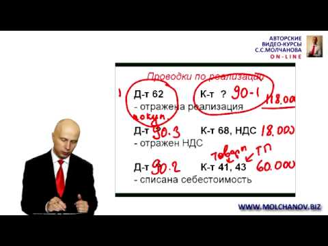 видео: 5.  Счета отражения доходов и расходов