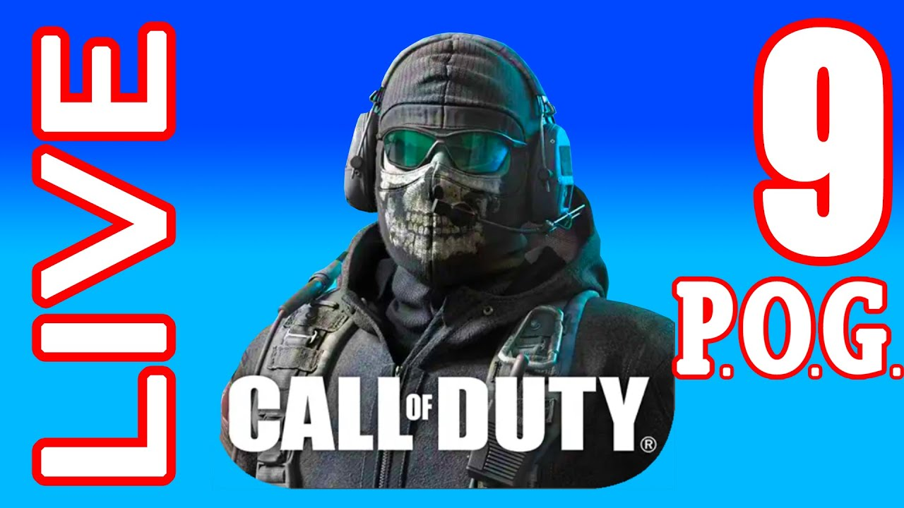 COD MOBILE LIVE #9 Play With P.O.G. (iOs, Android)   Power of Gameplay