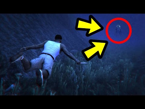 DONT GO TO THE DEEPEST PART OF THE OCEAN.. (GTA 5)